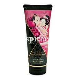 "Crema de masaje ""Frambuesa ardiente"" - SHUNGA - Massage cream soft moves ""Raspberry felling"" - Imagen 1"