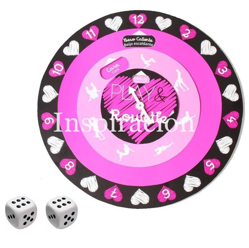 "Juego para pareja ""Play and roulette"" - Imagen 1"